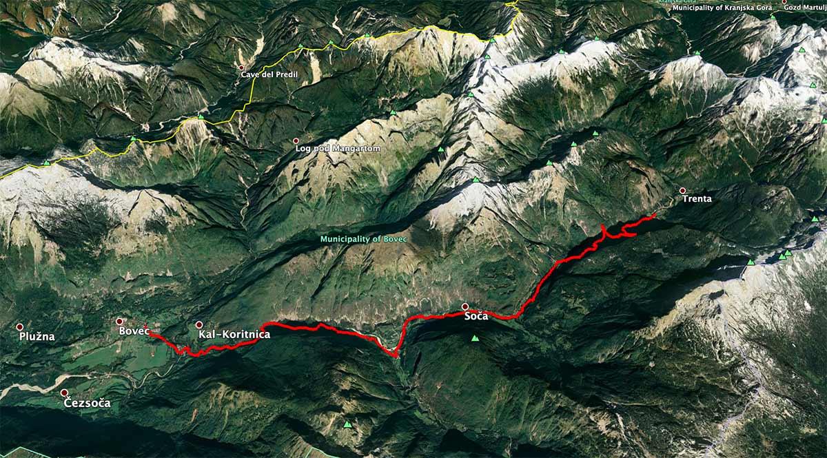 Mapa de la etapa 24