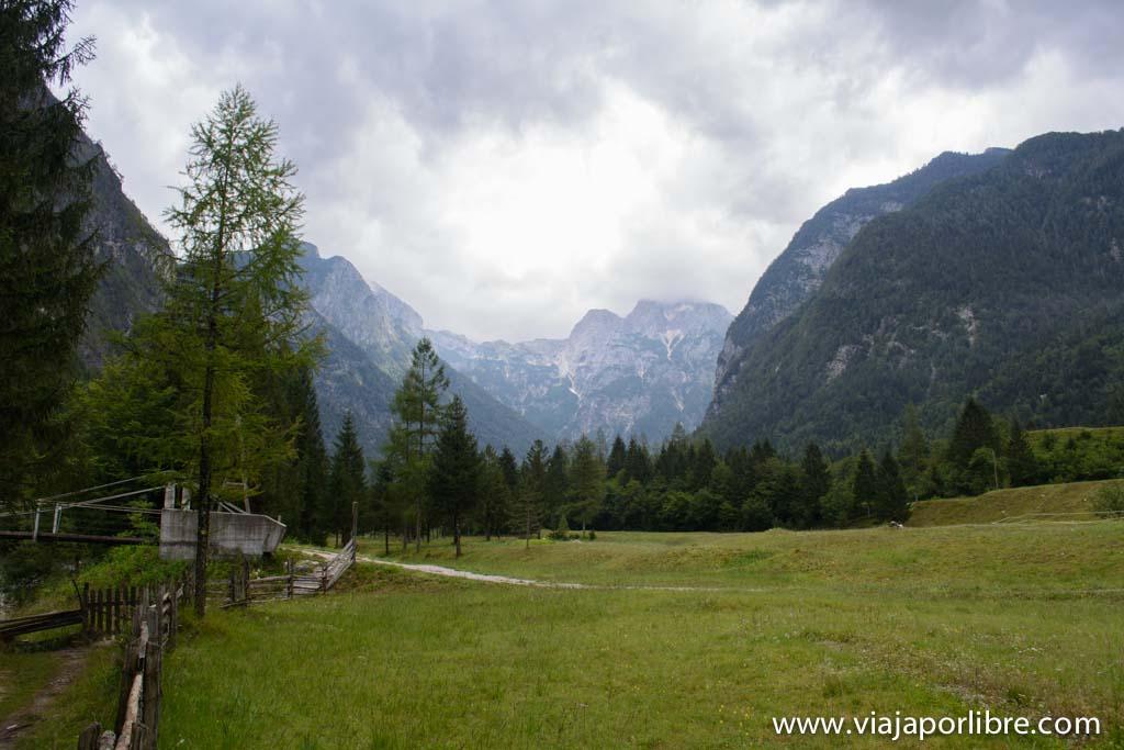 Trekking en Eslovenia. El Alpe Adria Trail
