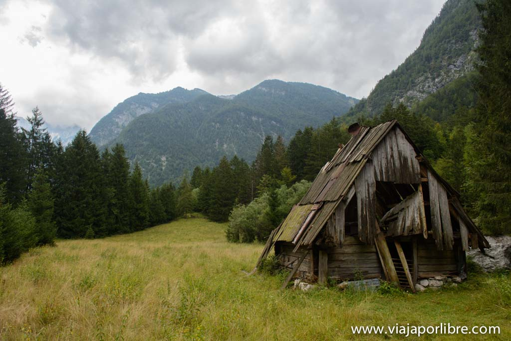 Trekking en Eslovenia. Alpe Adria Trial - Trento - Bovec