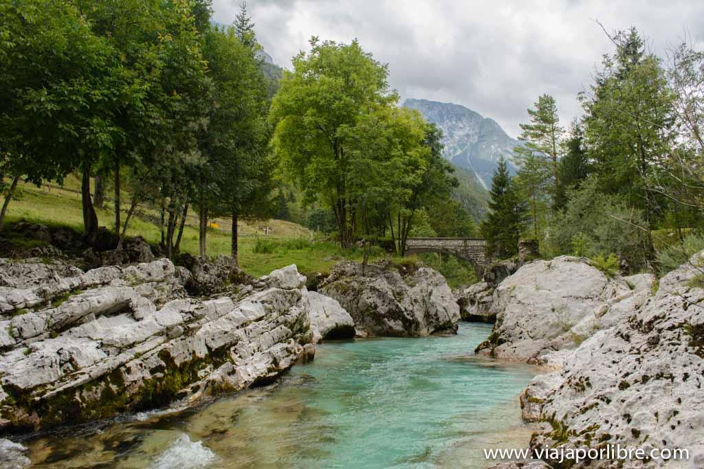 Senderismo en el Alpe Adria Trail - Rio Soca