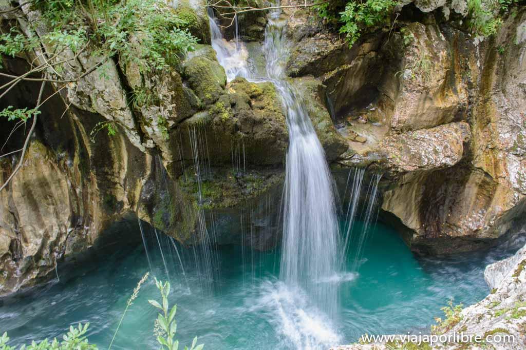 Trekking en Eslovenia. El Alpe Adria Trail - Garganta del Río Soca
