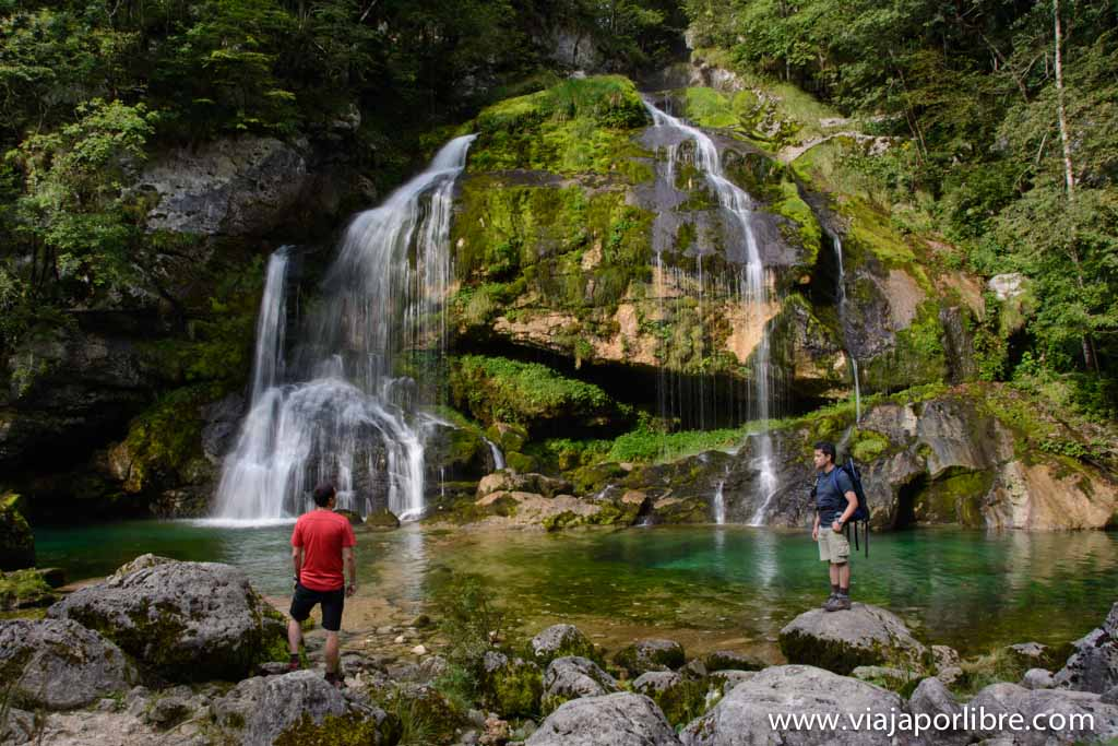 Cascadas de Eslovenia - Virje
