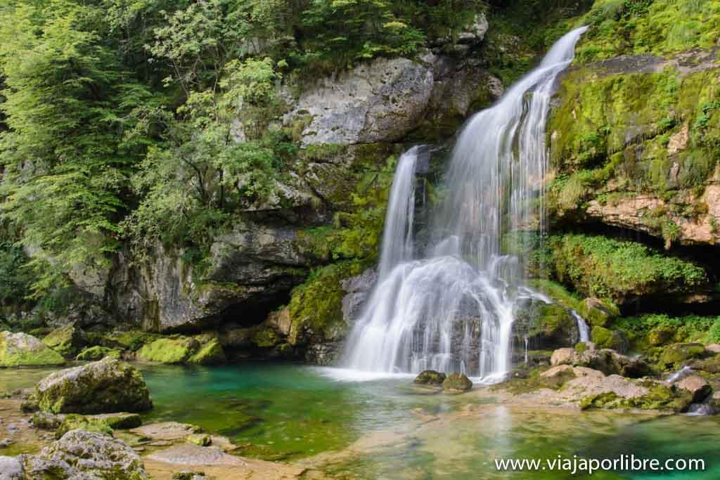 Senderismo en Eslovenia - El Alpe Adria Trail - Cascadas de Eslovenia – Cascadas de Virje