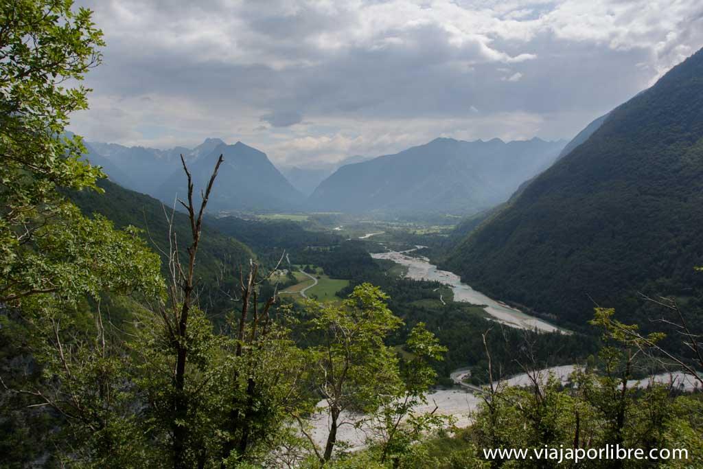 Trekking en Eslovenia - El Alpe Adria Trail - Valle de Bovec