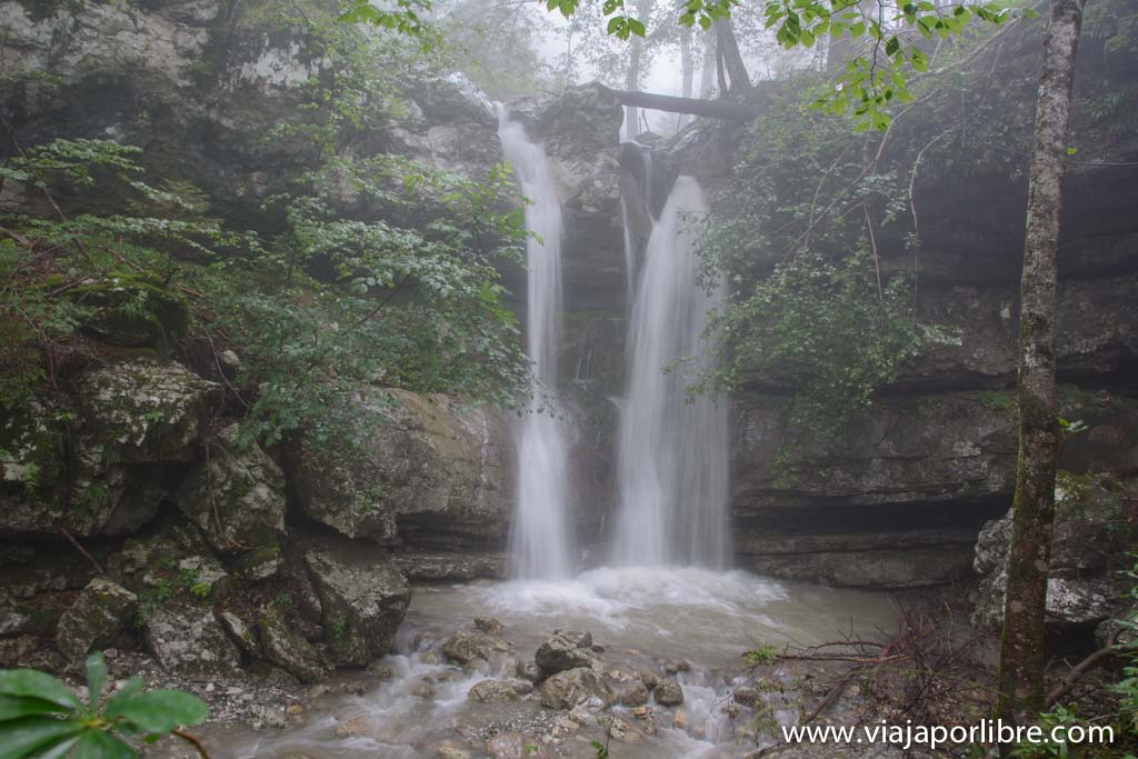 Cataratas de Eslovenia - Mrzli Potok