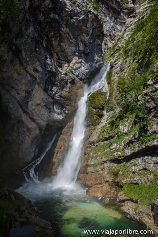 Cascadas de Eslovenia - Savica