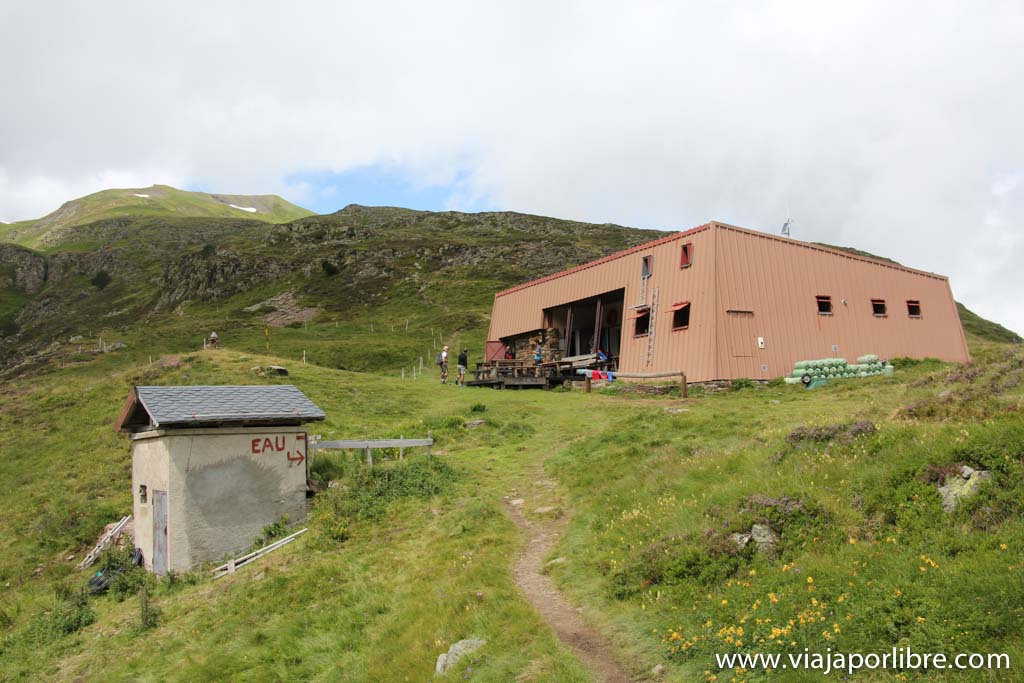 Etapa 4 Pass'Aran - Refugio de Araing