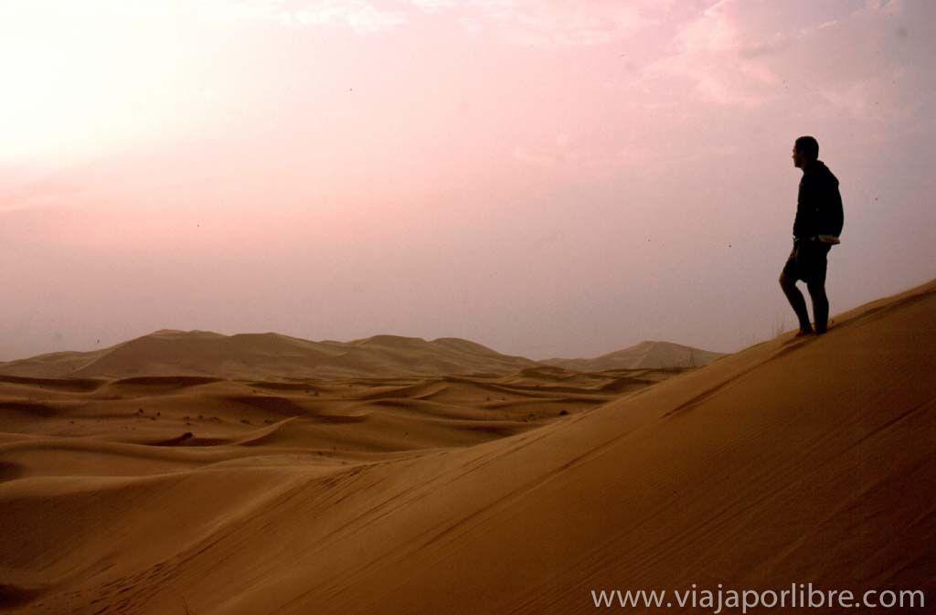 Las dunas de Merzouga