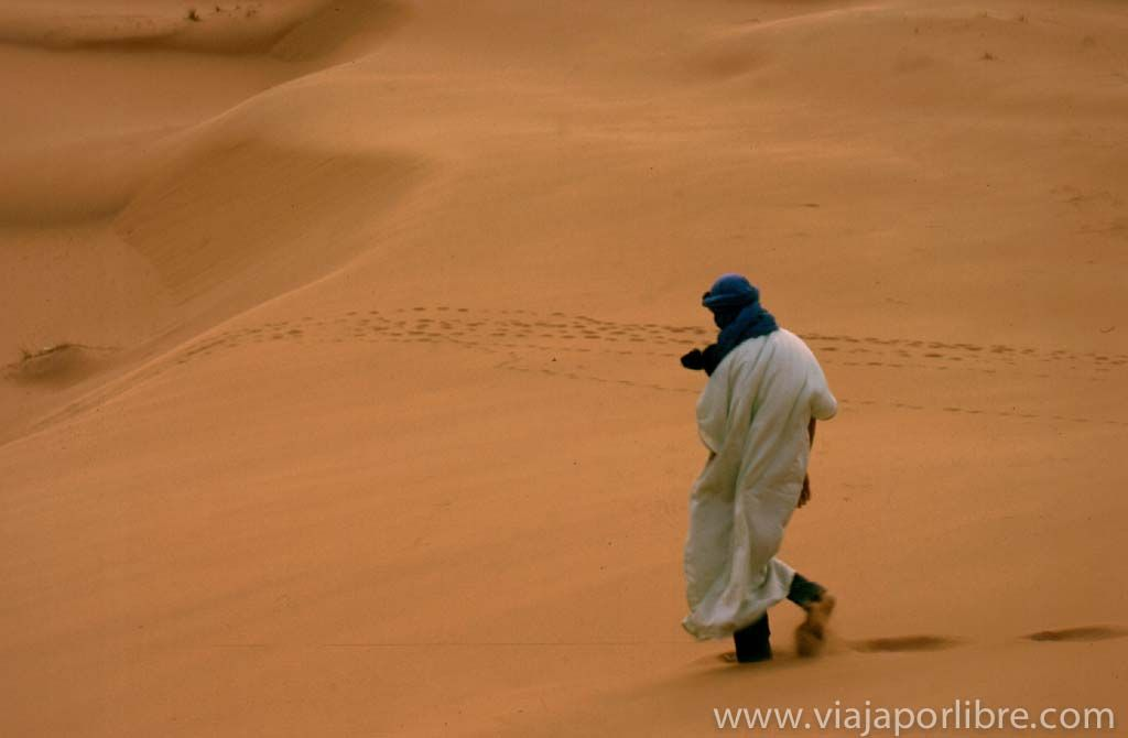 Sahara cerca de Merzouga