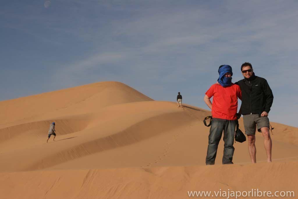 El desierto en Mhamid