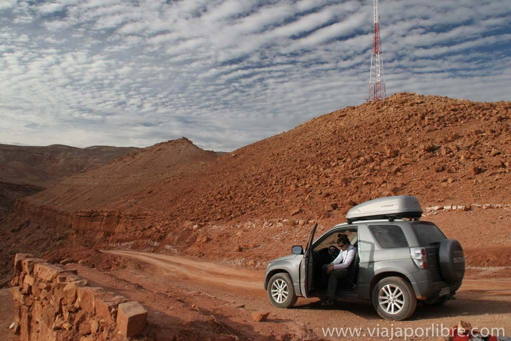 El desierto en Marruecos