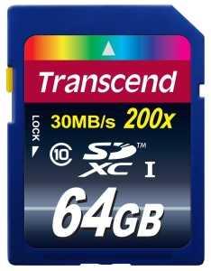 Tarjeta SD 64GB