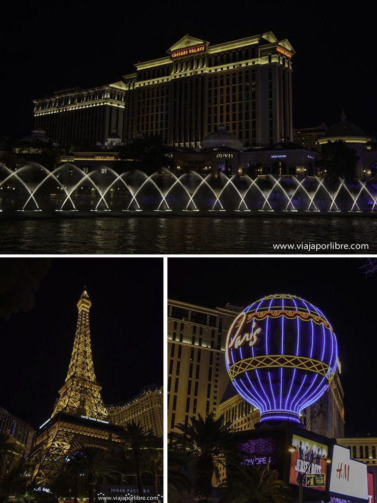 Caesar Palace - Paris - Lugares que no debes perderte en Las Vegas