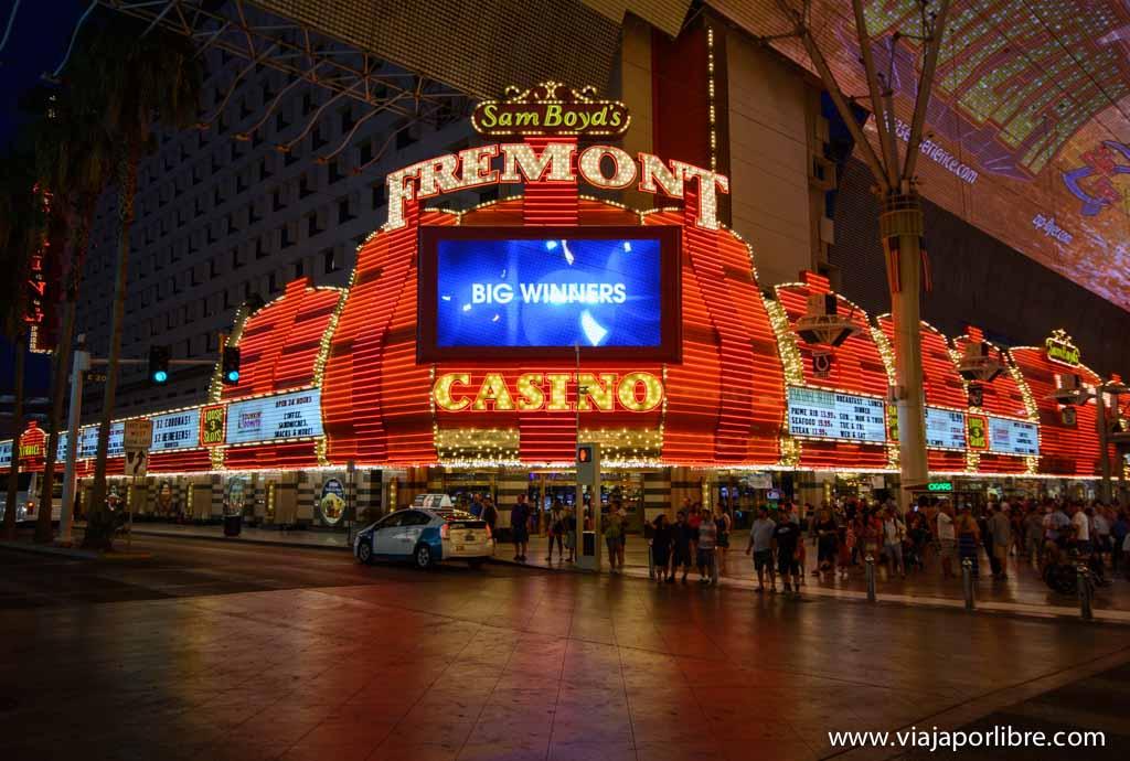 Fremont Casino - Lugares que no debes perderte en Las Vegas