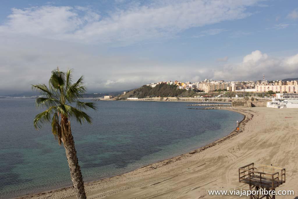 Playas de Ceuta