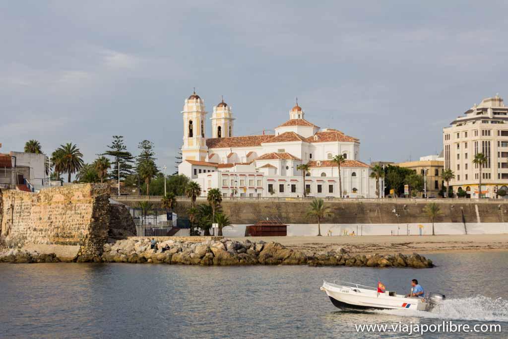 Ceuta desde el mar