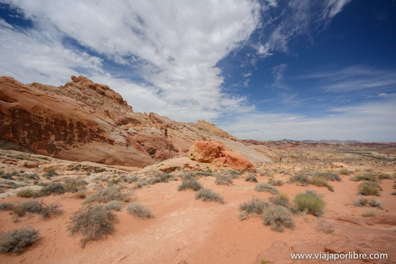 Rainbow Viewpoint - Valley of Fire