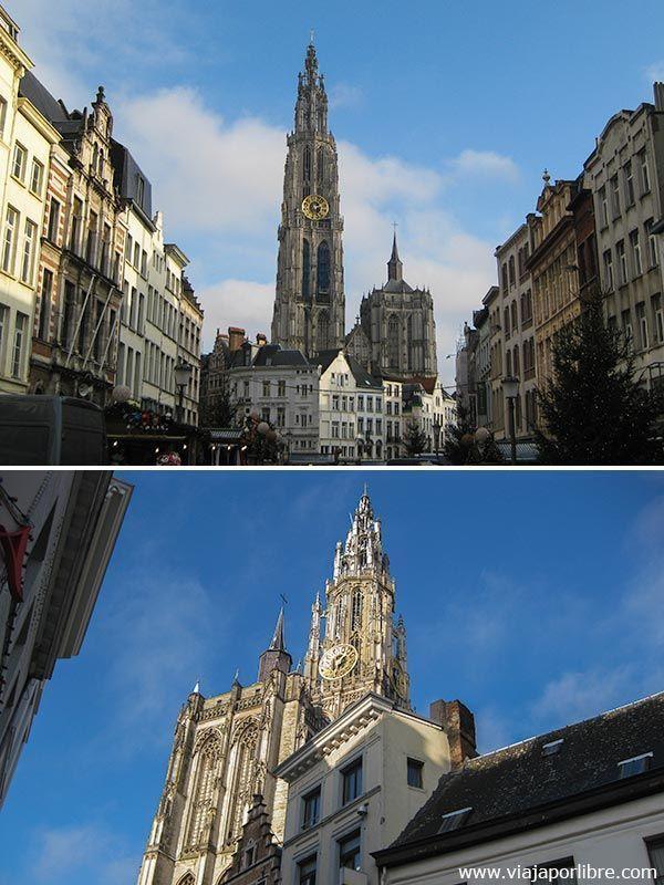 Amberes - Catedral de nuestra senora