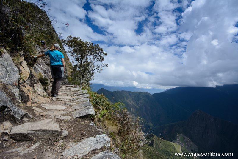Fatiga en Montaña Machu Picchu