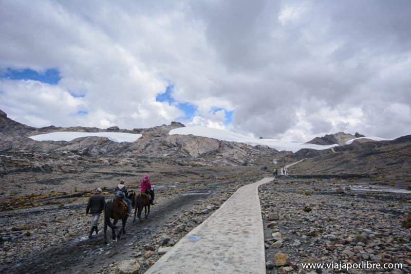 Pastoruri. Un glaciar en el corredor de la muerte
