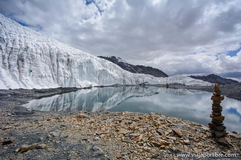 Glaciar Pastoruri - Un glaciar en recesión