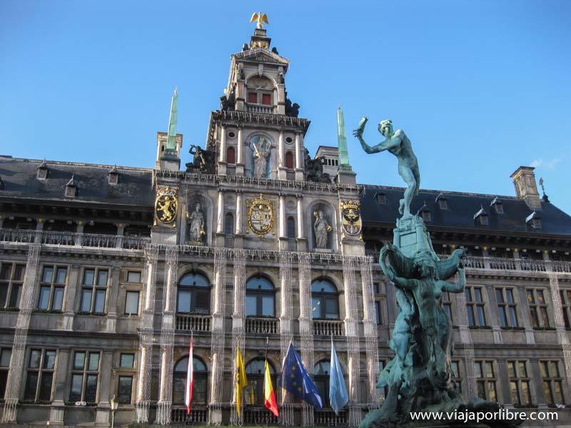 Amberes - Grote Markt - Ayuntamiento