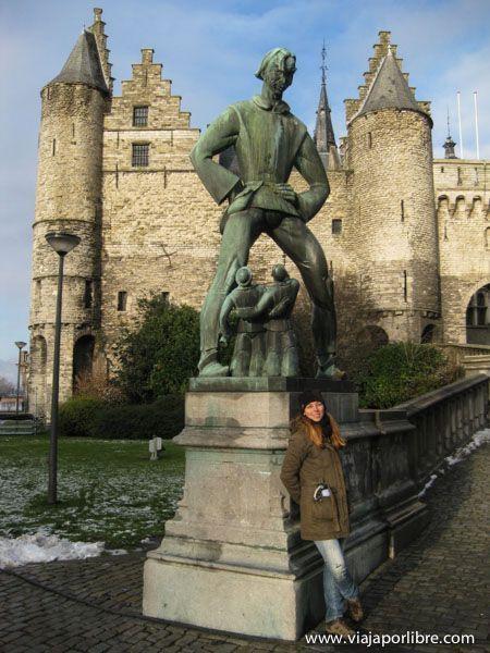 Puntos clave en la ciudad de Amberes - Het Steen - la roca