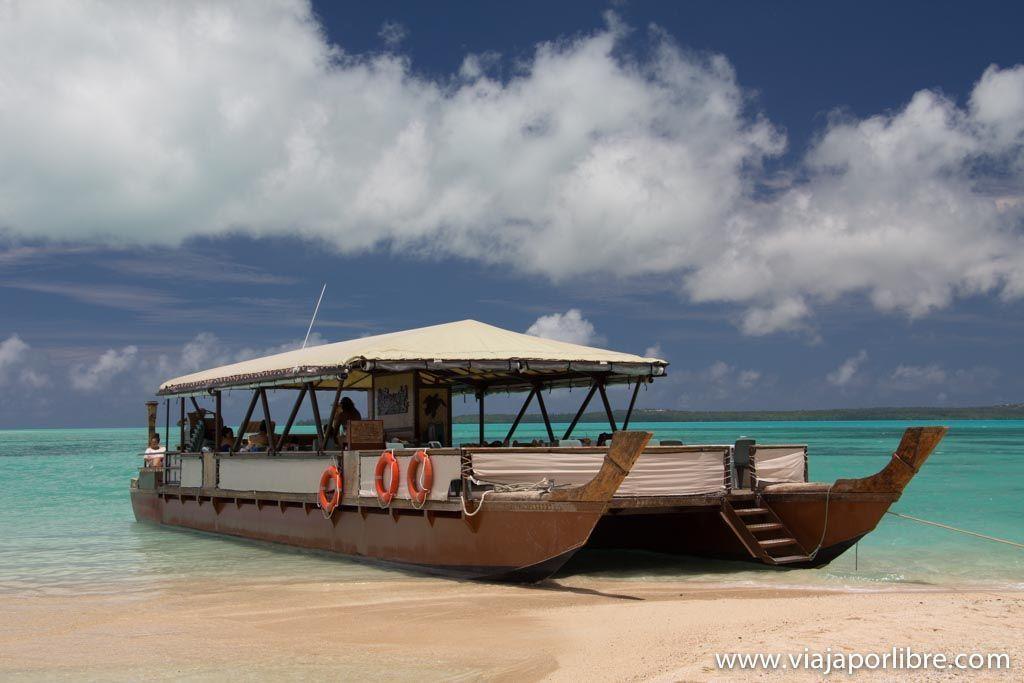 Crucero en la Laguna de Aitutaki