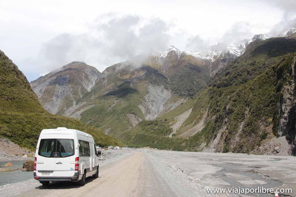 Autocaravana en Nueva Zelanda