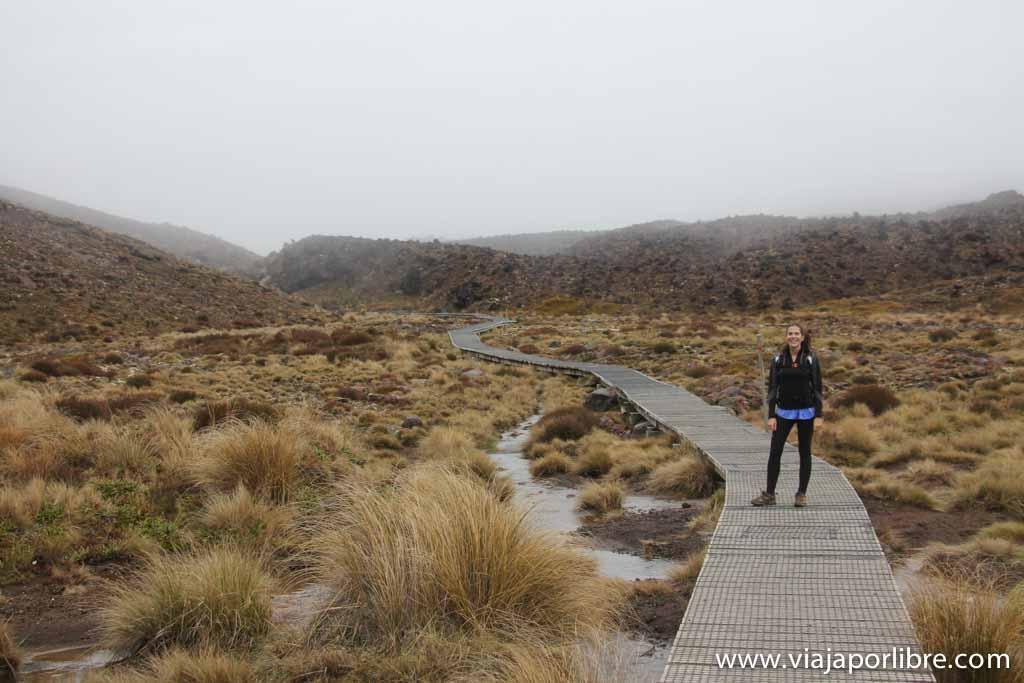 Salida del Tongariro Alpne Crossing