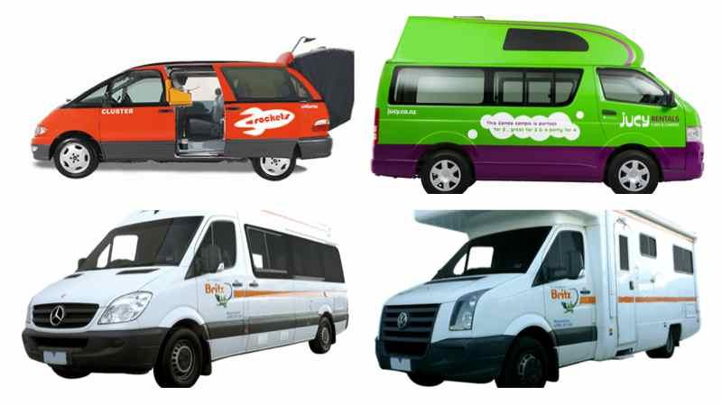 Tipos de autocaravana