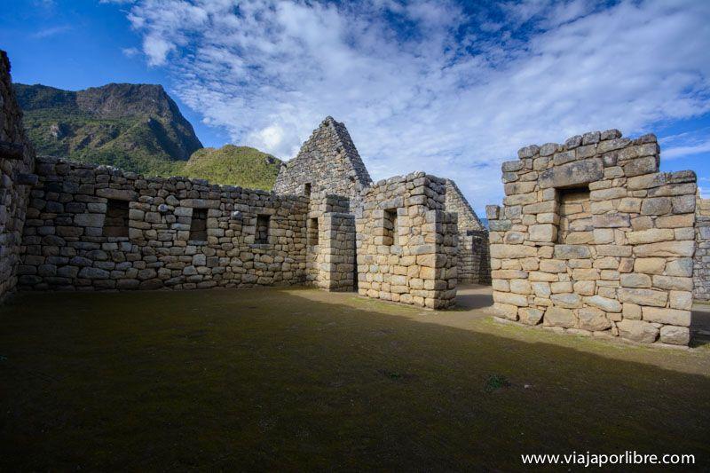 Viviendas de Machu Picchu