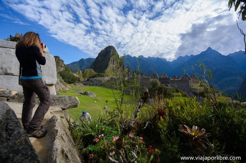 Plaza Central de Machu Picchu
