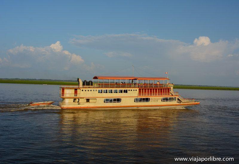 Viaje al Amazonas - Barco en Iquitos