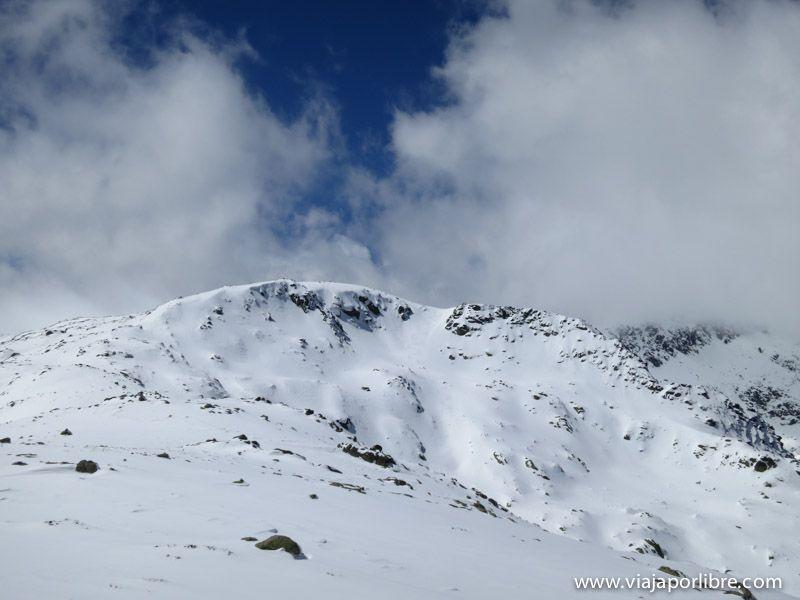 Morezón - Nieve en Gredos