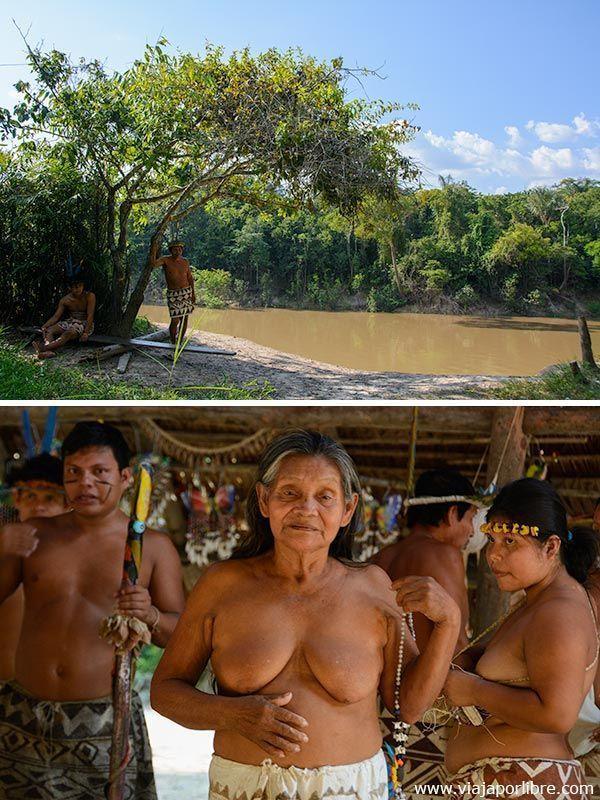 Viajar al Amazonas - Tribus en Iquitos