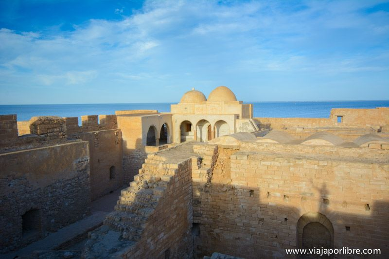 El fuerte Borj El Kebir. Isla de Djerba