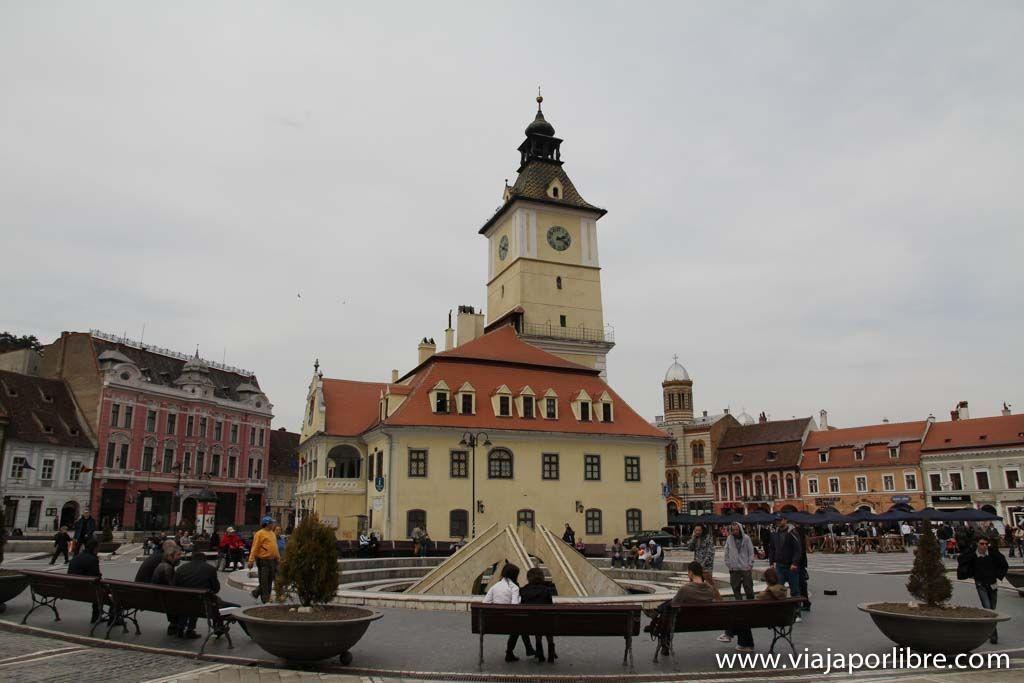 Brasov. Piața Sfatului