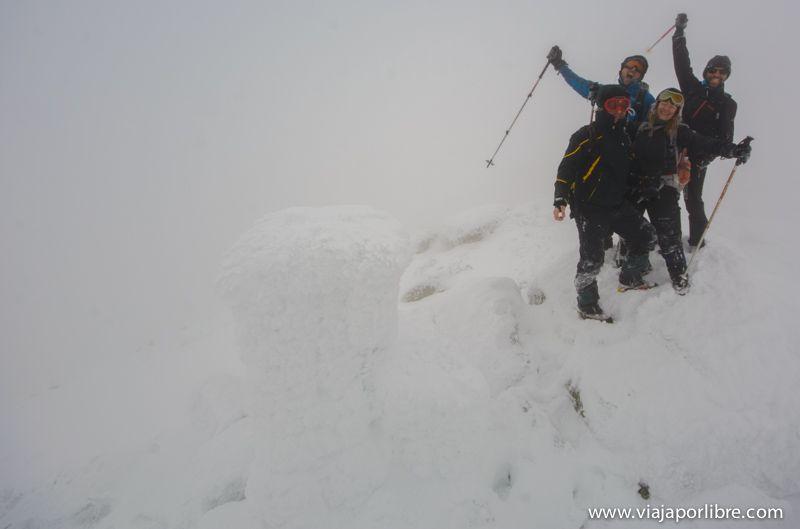 Cumbre del Pico Zapatero - Avila