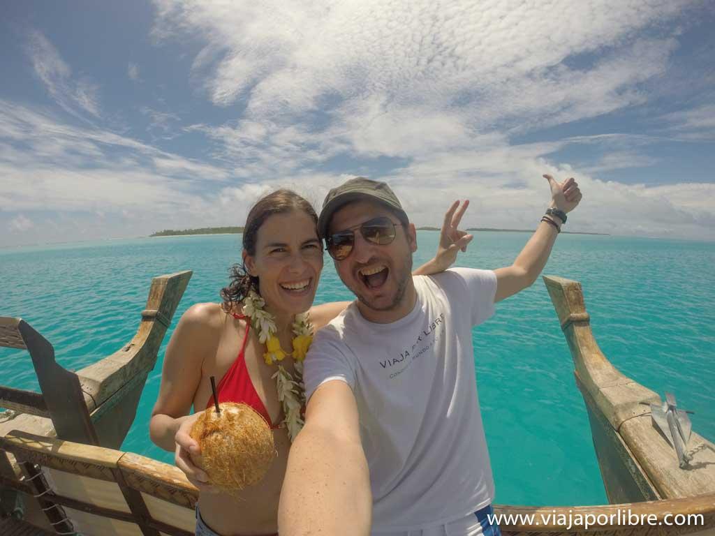 Crucero en Aitutaki