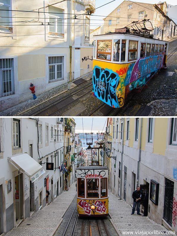 Funiculares y Tranvias de Lisboa