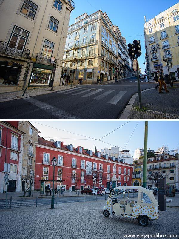 Callejear por Lisboa
