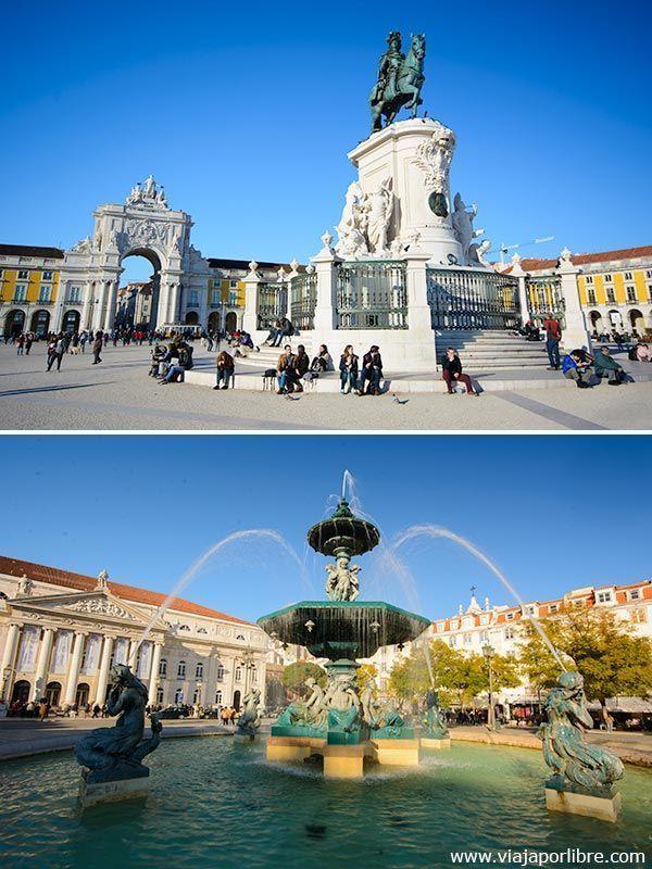 Plazas de Lisboa