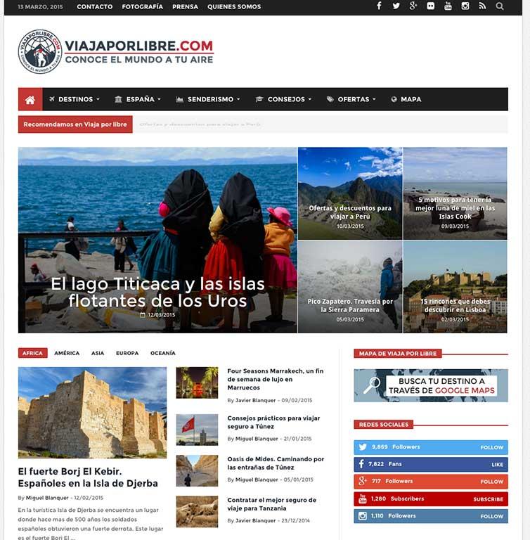La nueva Homepage