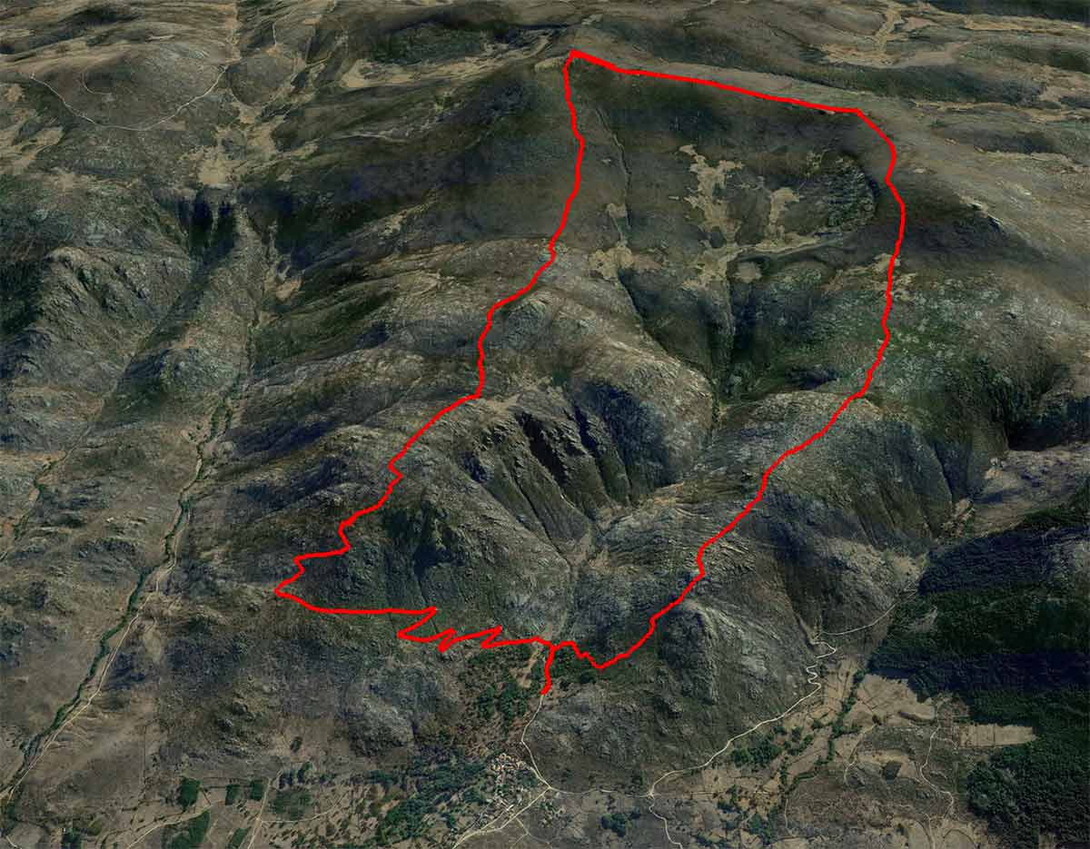 Mapa Serrota