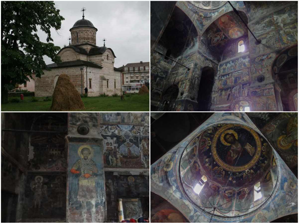 La real iglesia de Curtea de Arges