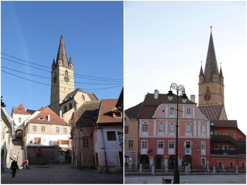 Centro de la ciudad de Sibiu