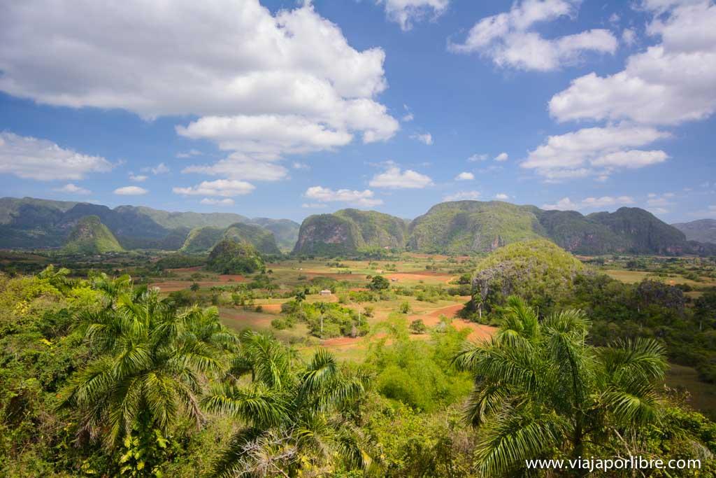 Valle de Viñales de Cuba