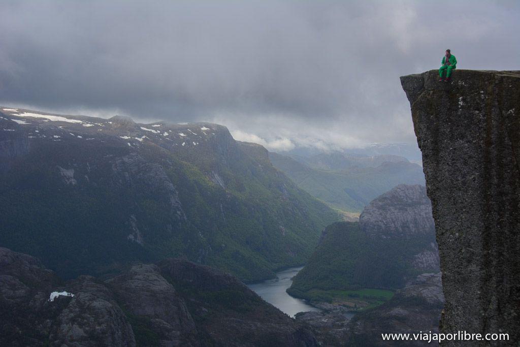 Preikestolen, la ruta al Púlpito de Noruega