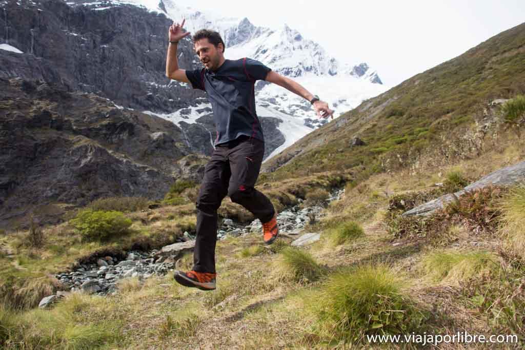 Javier en Nueva Zelanda